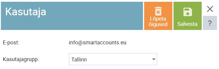 SmartAccounts uue sidumine ettevõttega