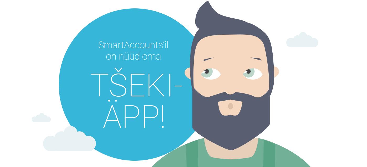 Ainukese raamatupidamistarkvarana Eestis on SmartAccountsil nüüd oma äpp