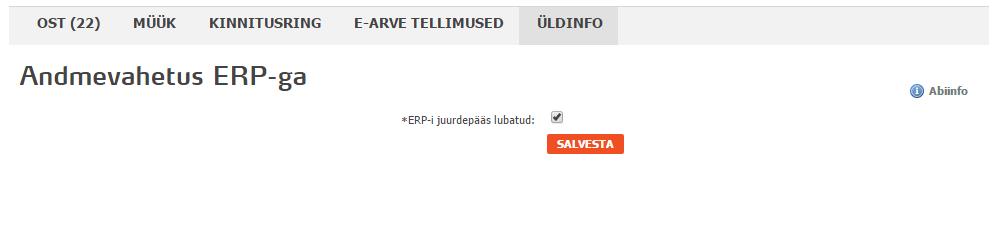SmartAccounts omniva earvekeskus andmevahetus ERP-ga