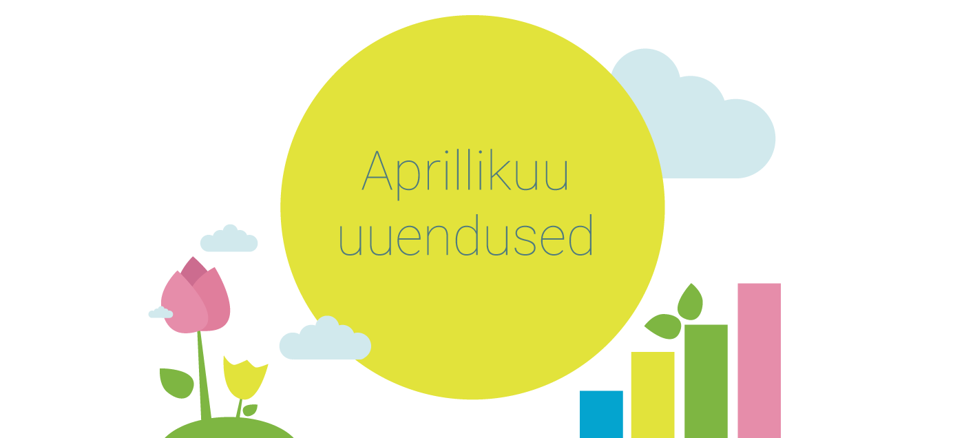 SmartAccounts aprillikuu uuendused